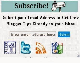 Cara Membuat Widget Berlangganan Artikel/ Like Social