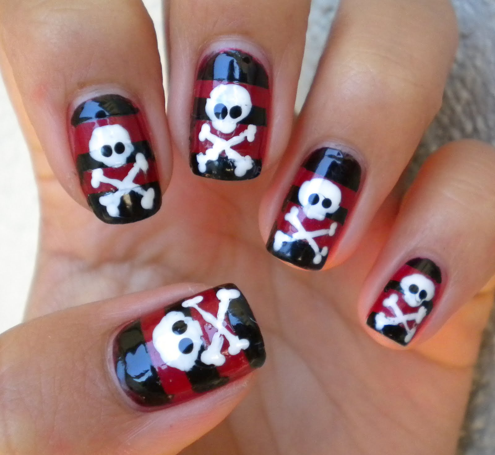 Smile For The Little Things Pirate Nails