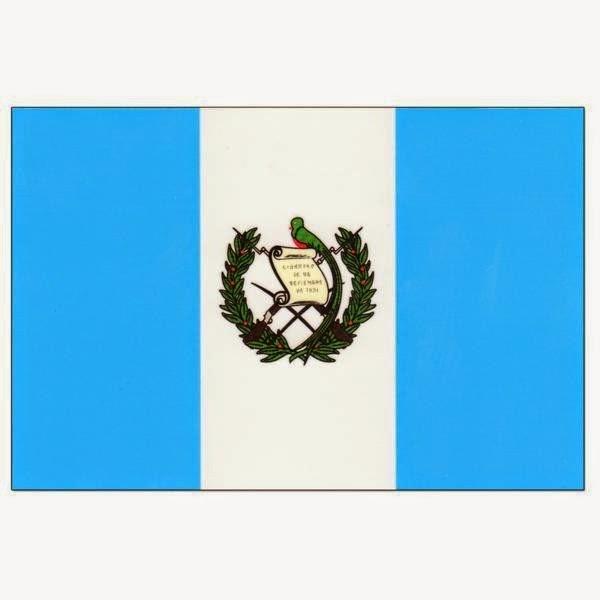 DRAPEAU DU GUATEMALA
