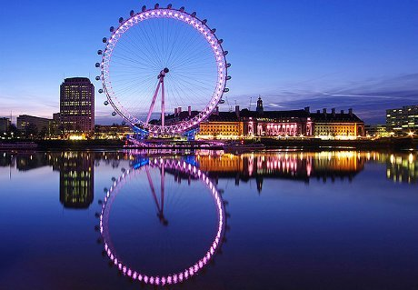 LONDON: The London Eye |The Garden of Eaden  London