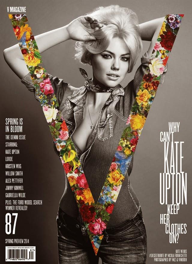 Kate Upton se desnuda para V Magazine
