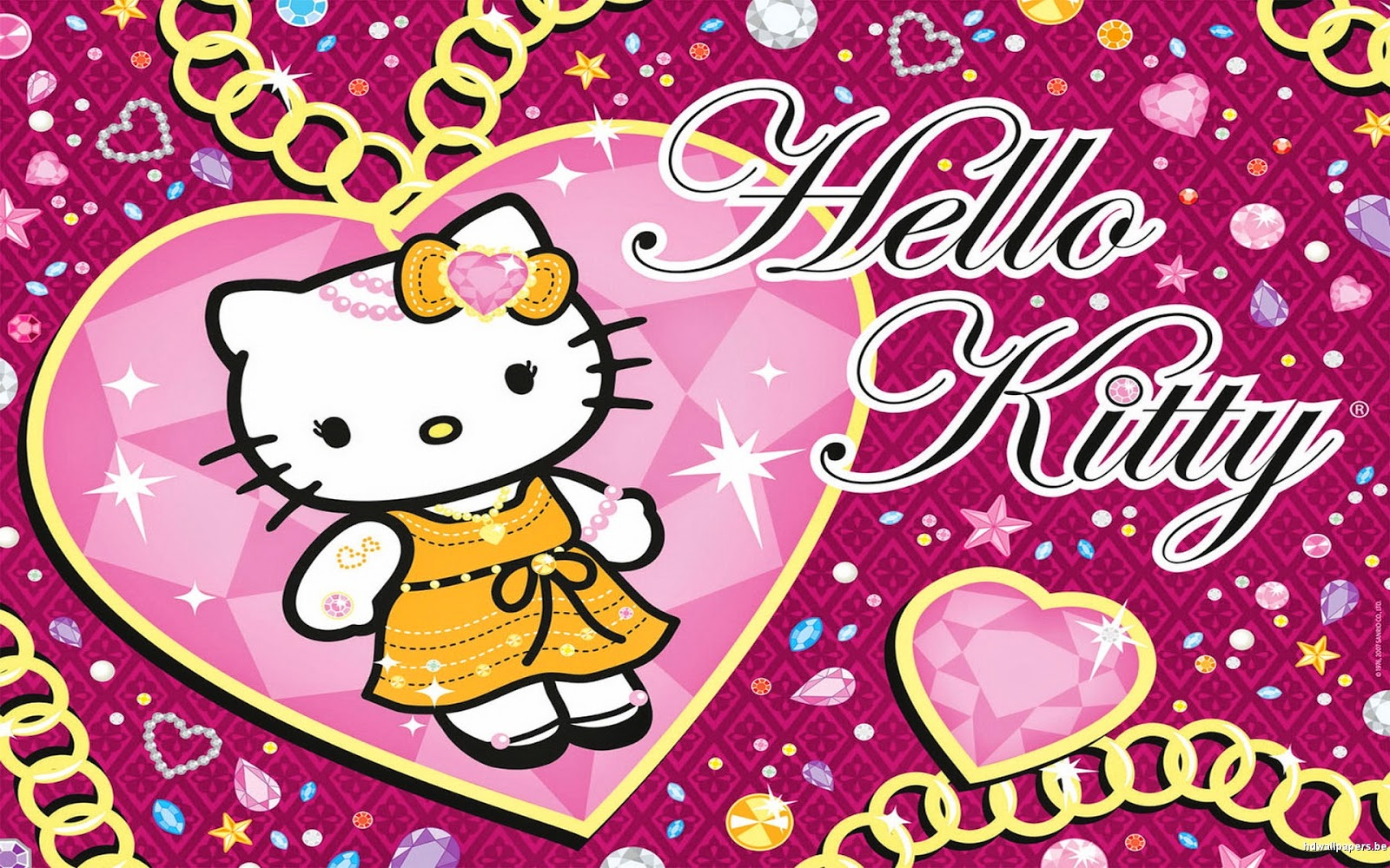 Wallpapers For Pink And Purple Hello Kitty Wallpaper