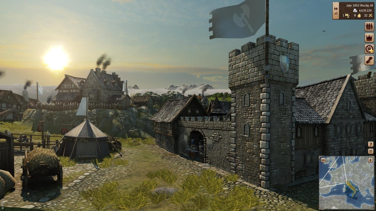 new games grand ages medieval ps4 pc the entertainment factor. Black Bedroom Furniture Sets. Home Design Ideas