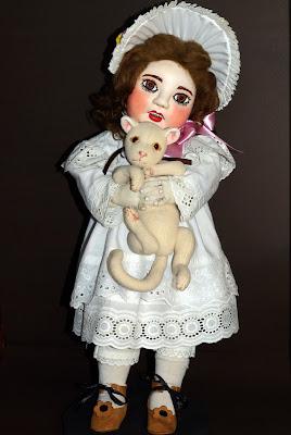 ADdoll_Annet_5 Аннет авторская текстильная шарнирная кукла Алёны Дороховой