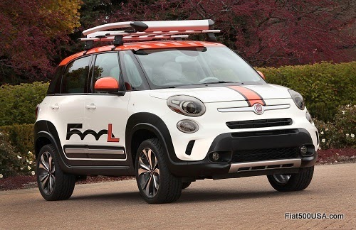 Fiat 500L Adventurer by Mopar