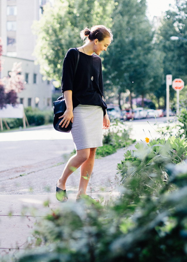 Personal Style and Fashion blogger based in Vancouver, Canada wearing Noul, American Apparel, H&M and Monki via Asos.