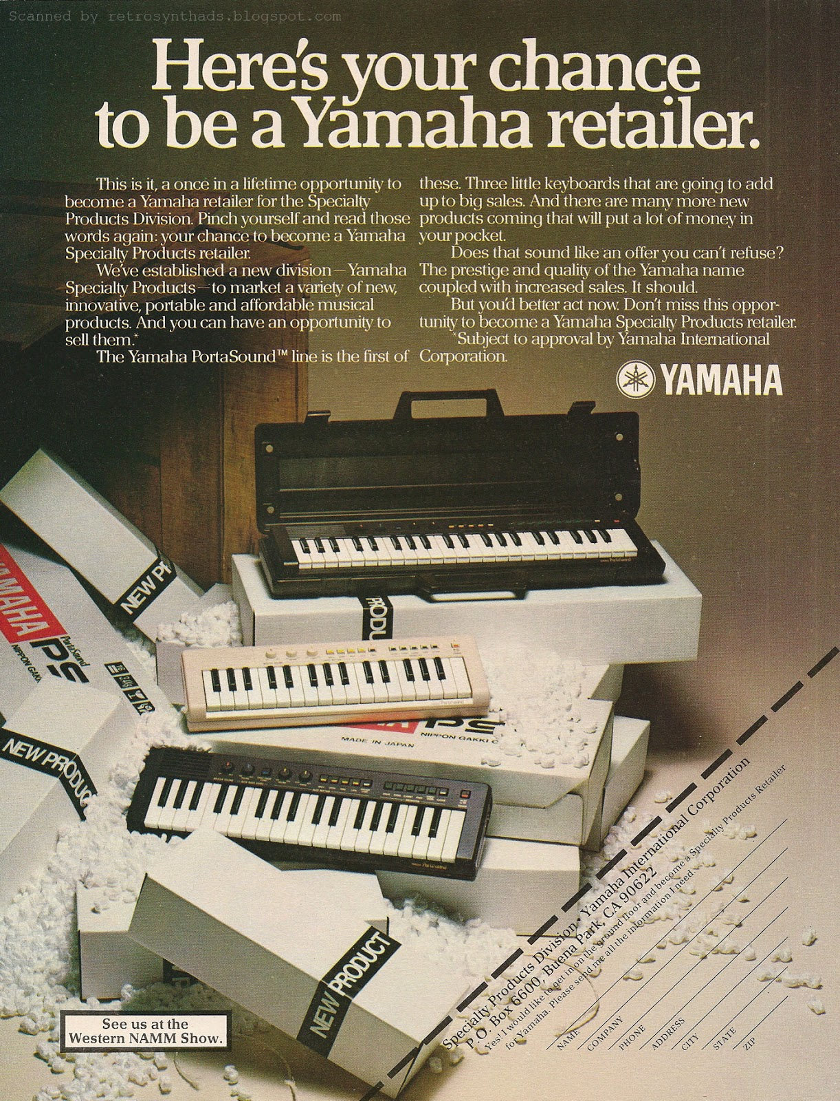 Retro Synth Ads  June 2013