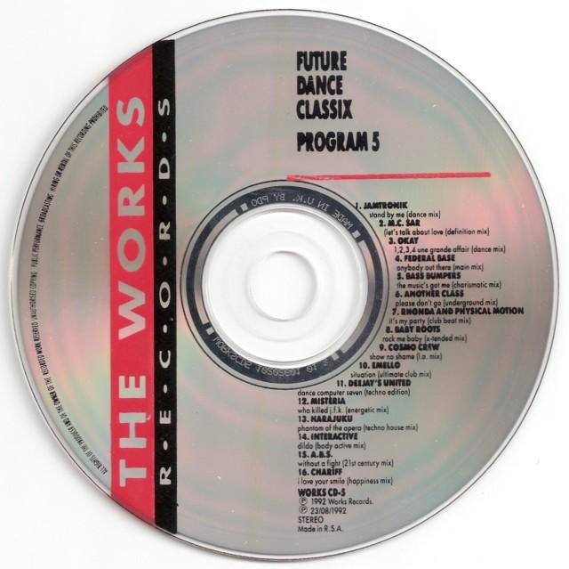 Retro disco hi nrg future dance classix program 5 1992 for Classic 90s house vol 2