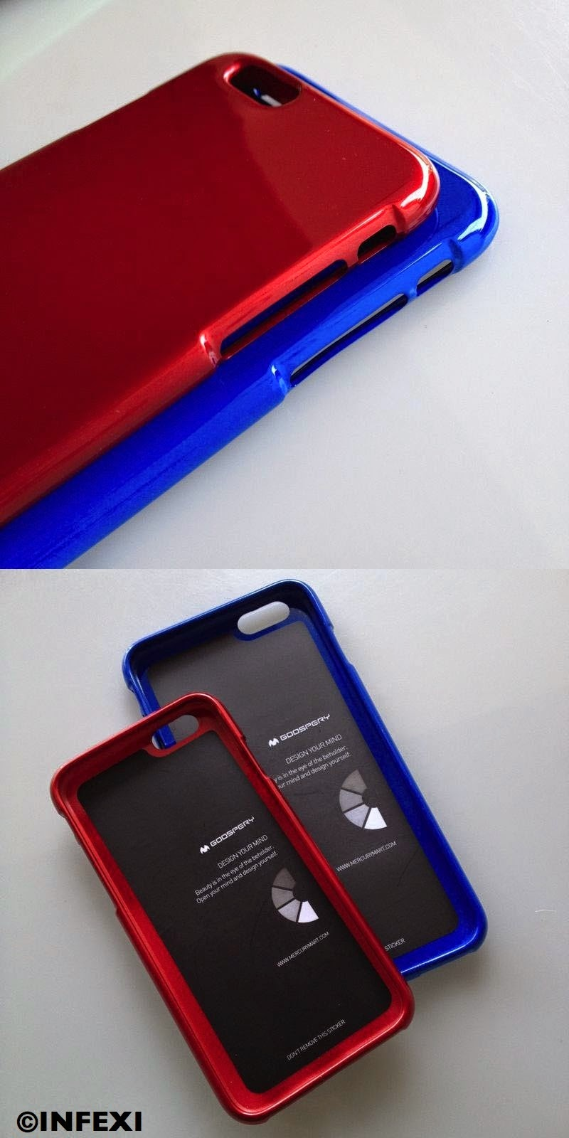 Infexi Mercury Goospery Jelly Case For Iphone 6 Plus 55 Inch Oppo A5 A3s Pearl Product Gallery