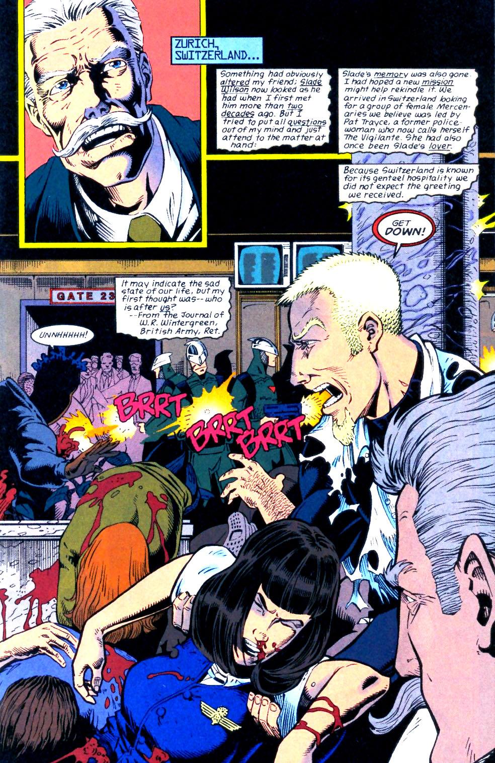Deathstroke (1991) Issue #56 #61 - English 2