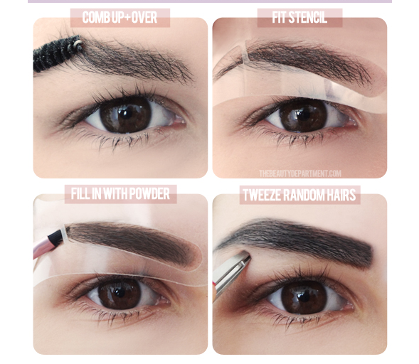 StyleJustEasier: Shaping perfect eyebrows