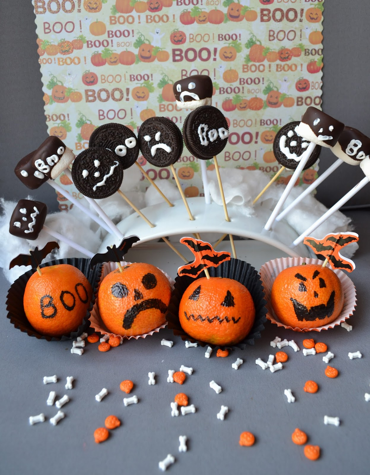 Sweetykisslife s rie halloween 2015 quelques id es simples pour un go ter horrifiant - Support polystyrene gifi ...