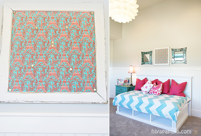 Inspiration turquoise and pink girl 39 s room hiyapapaya for Turquoise and pink bedroom