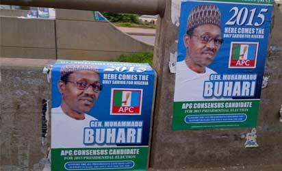 Buhari's Posters
