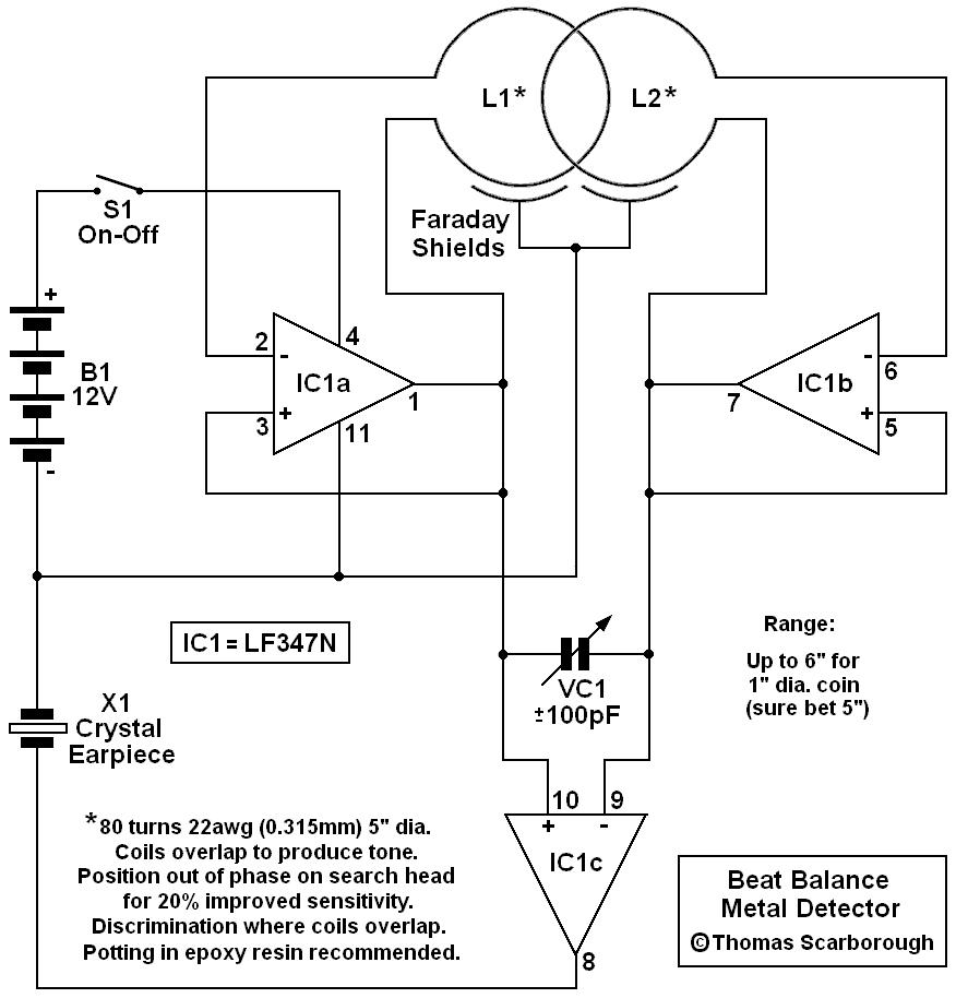 Tone Detector Circuit Linear Ic Tester Diagram Tradeoficcom Beat Balance Metal For Reference 876x914
