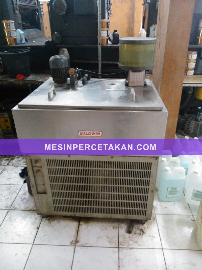 Speedmaster 72 V - BALDWIN Chiller Recirculation
