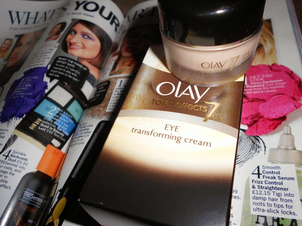 Beauty Magic Box: Olay Total Effects Eye Transforming Cream
