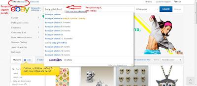 produto infantil ebay