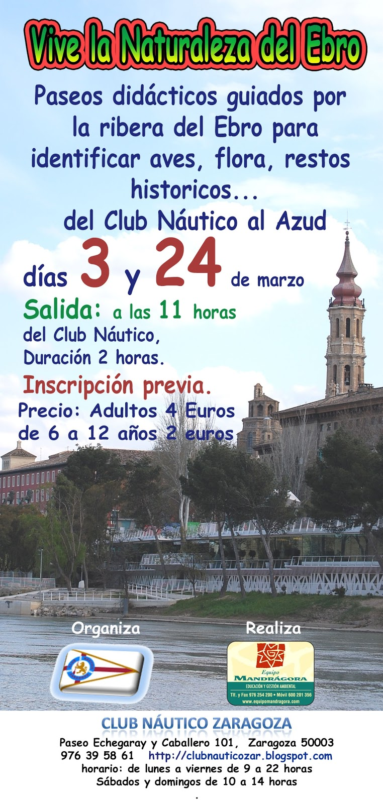 Club n utico zaragoza febrero 2013 - Club nautico zaragoza ...