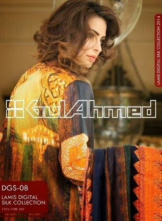 Gul Ahmed Double Silk Collection Shirts