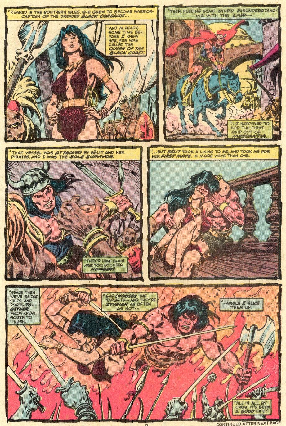 Conan the Barbarian (1970) Issue #85 #97 - English 4