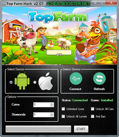 Top Farm Hack Cheats