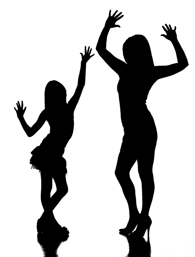 mother and daughter relationship clipart
