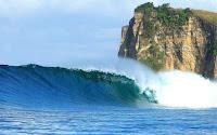 surfing di plengkung, pantai plengkung, wisata banyuwangi