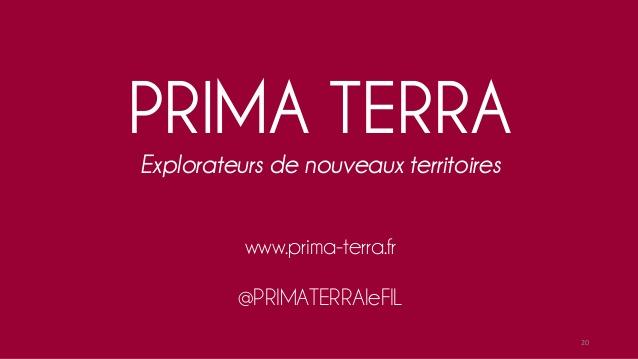 Un projet valorisé et un blog animé par PRIMA TERRA