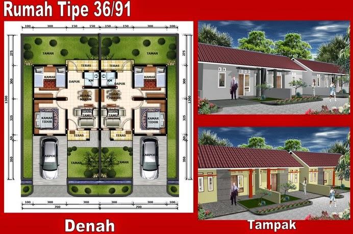rumah tipe 36 sederhana