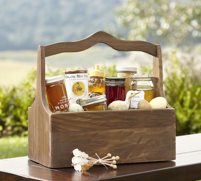 Strangers pilgrims on earth gift basket ideas from the home and gift basket ideas from the home and homestead negle Gallery
