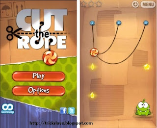 "Free Download ""Cut the Rope"" for Android"