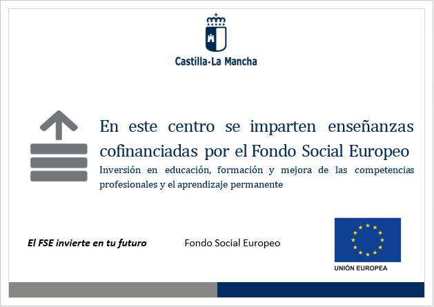 Enseñanzas cofinanciadas por el FSE