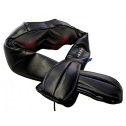 SHIATSU NECK & BACK, INFRARED HEAT MASSAGER