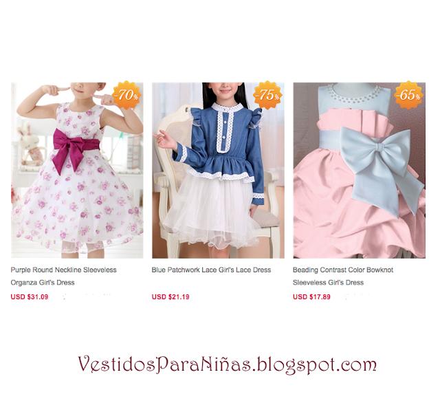 Vestidos para niñas - infantiles