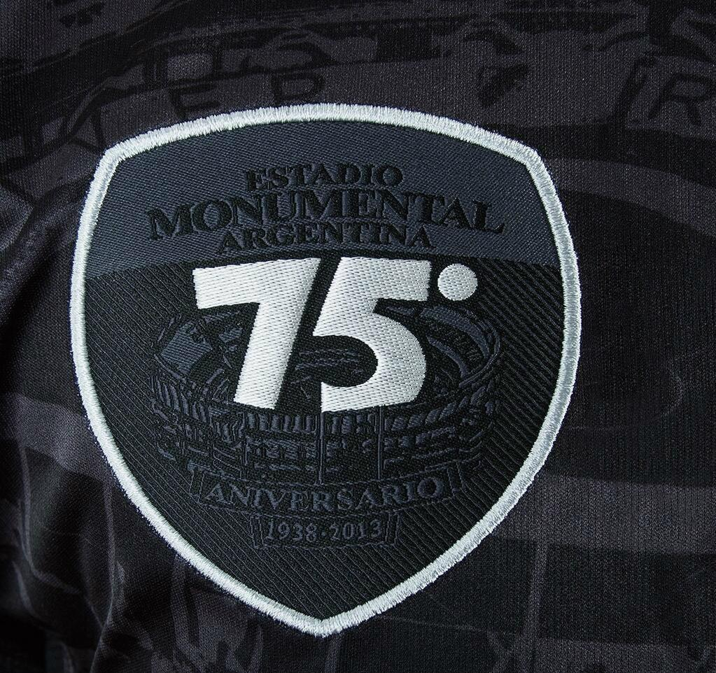River Plate 75 Years Monumental 2013 Special Kit - Footy Headlines