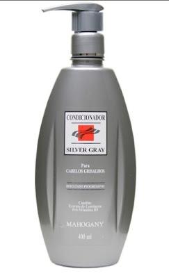 Condicionador Mahogany Cabelos Grisalhos - Silver Gray