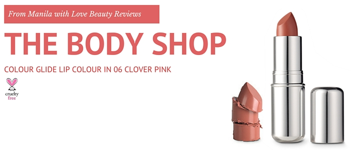 The body shop colour glide lipstick review 1
