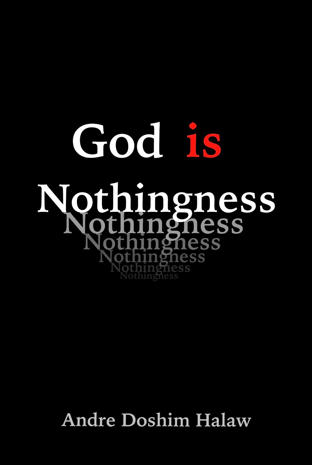 God is Nothingness