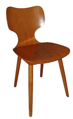 bo vintage chaise bistro marteau de baumann vintage ann es 60. Black Bedroom Furniture Sets. Home Design Ideas