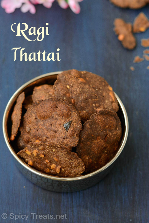 Easy thattai recipes