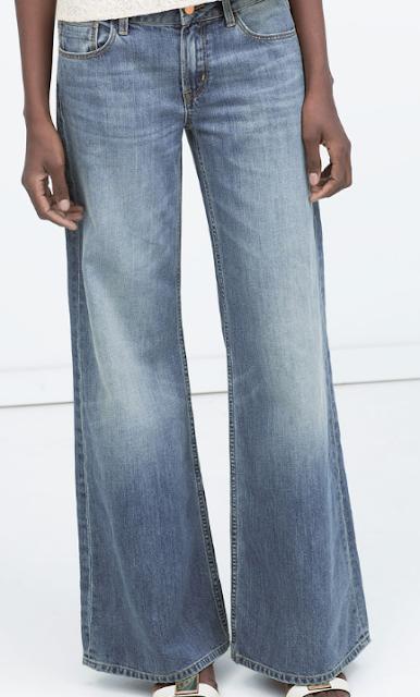 Rebajas SS 2015 fondo de armario pantalones vaqueros anchos