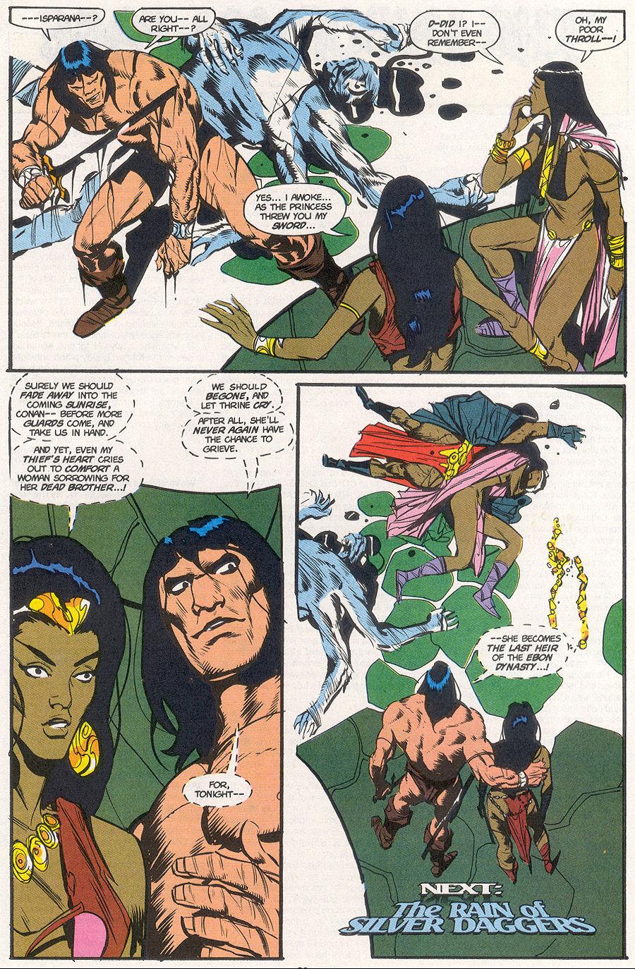 Conan the Barbarian (1970) Issue #265 #277 - English 22