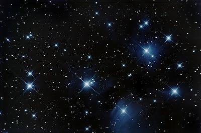 M45 The Pleiades