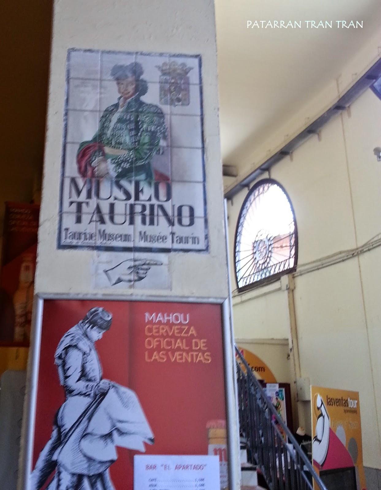 Inspeccion Tabernaria. Las Ventas. San Isidro.