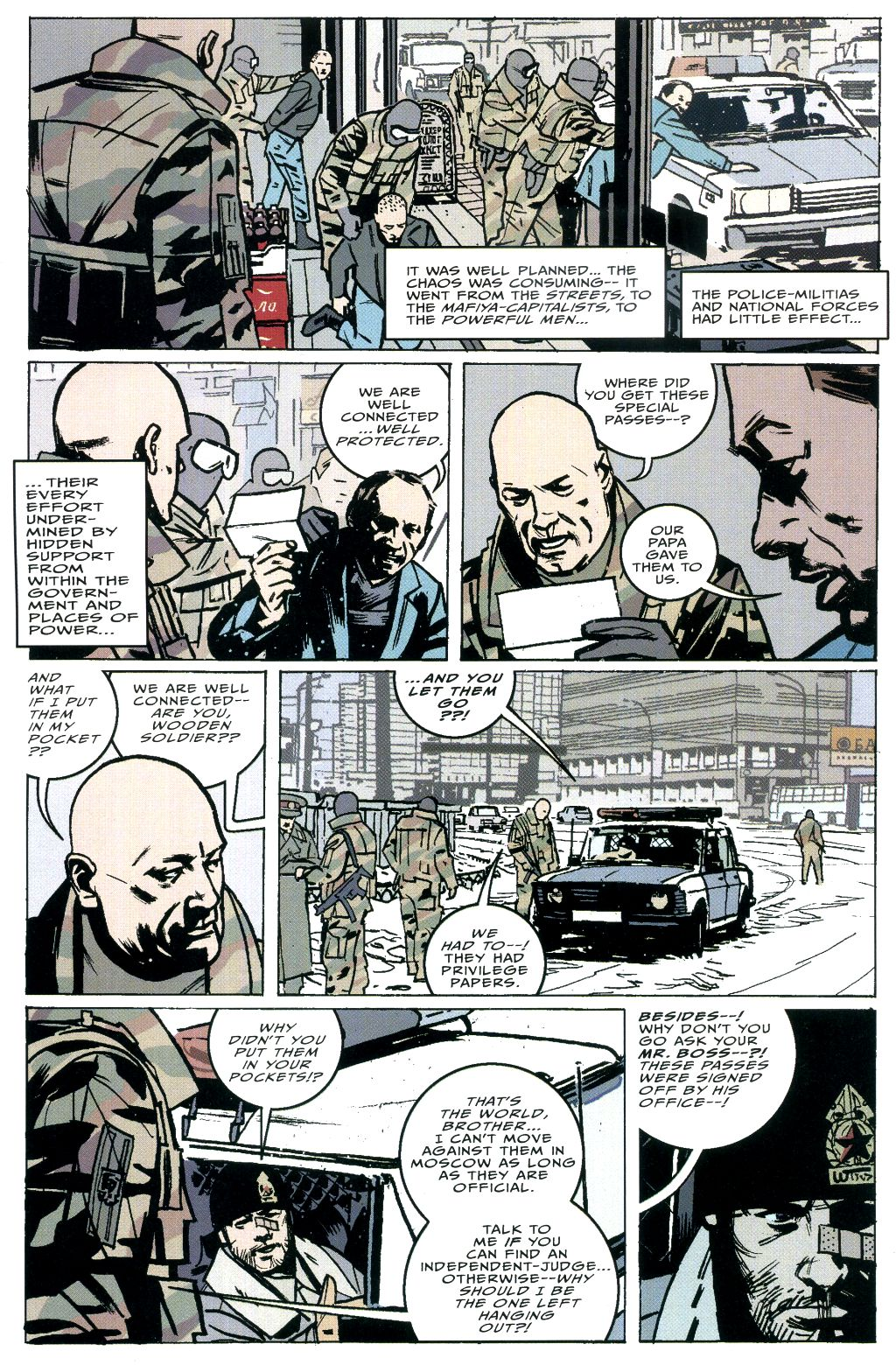 Read online The Winter Men comic -  Issue #5 - 7