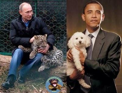 Putin ile Obama