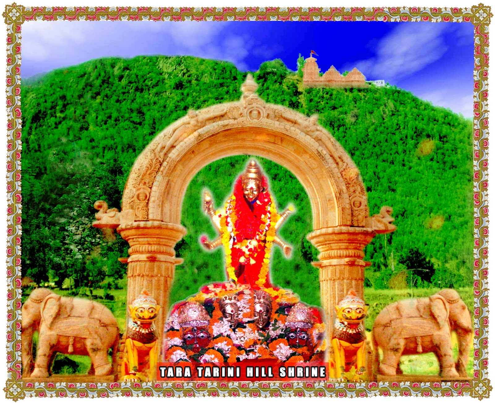 Fantasy Orissa Temples