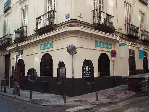 BOGUI CLUB, fachada esquina Barquillo con Piamonte.