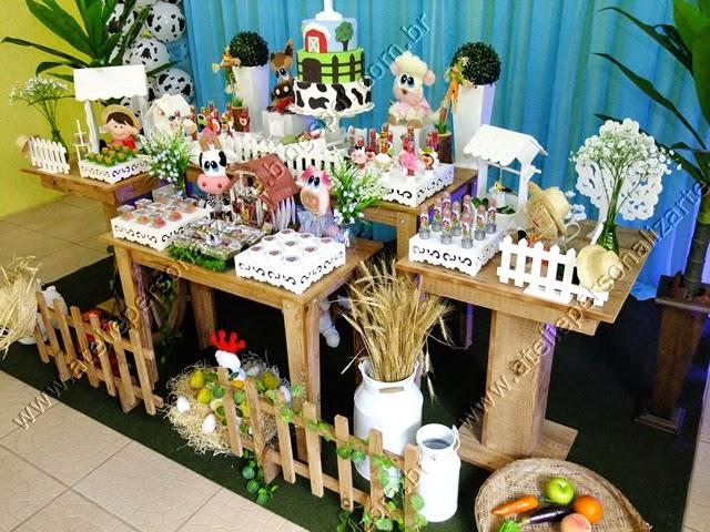 Decoração festa Fazenda Porto Alegre provençal rústico